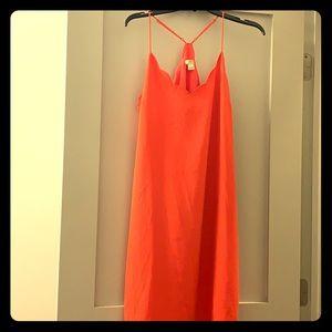 Hot pink. J Crew. Cocktail dress. Size 10.